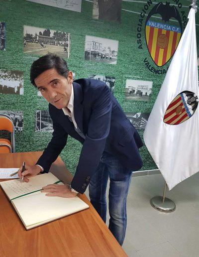APAVCF Homenaje al ex entrenador VCF, Marcelino García Toral