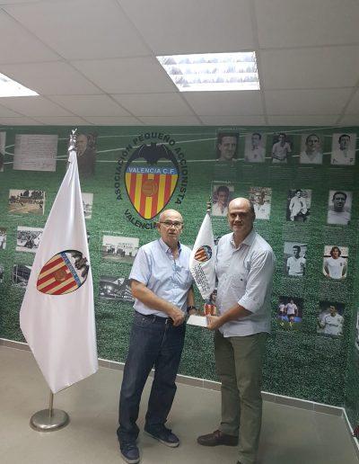 APAVCF-Homenaje-Jugador del VCF-Fernando Gómez Colomer